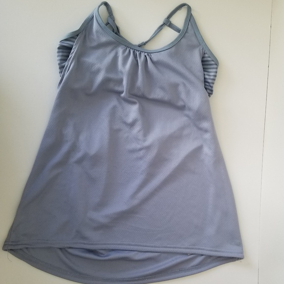 Champion Tops - Champion Athletic Top with Built-in Shelf Bra